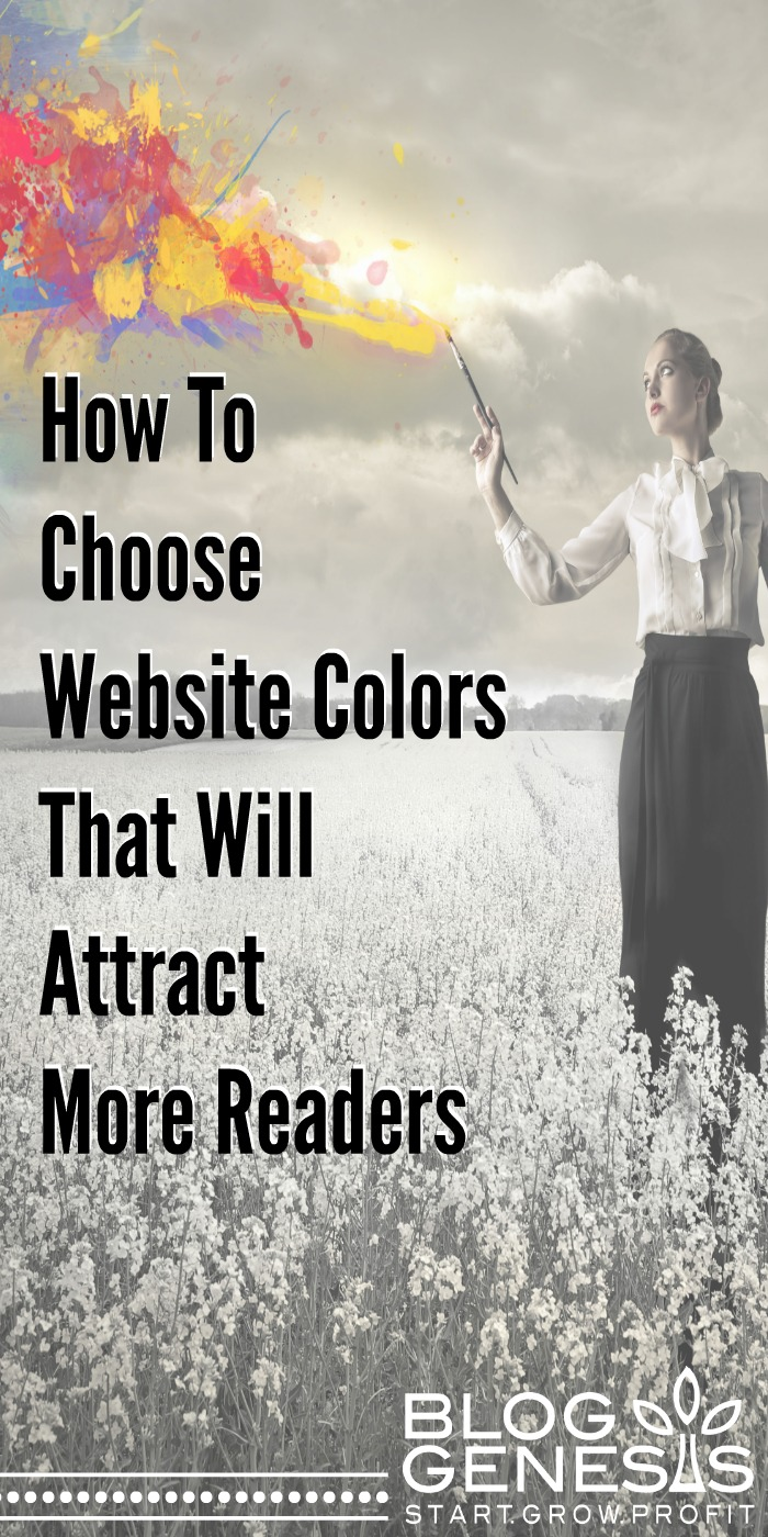 How To Choose Colors on your Website That Will Attract More Readers