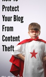 How To Protect Your Blog From Content Theft