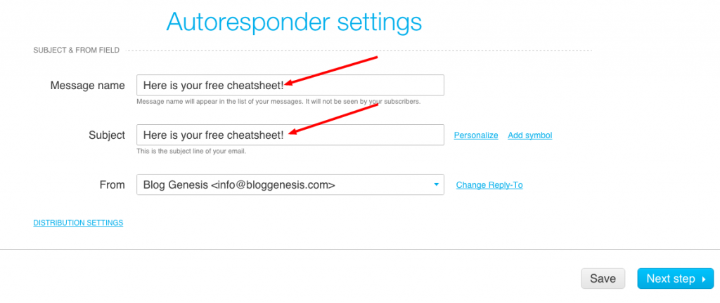 autorespondersettings